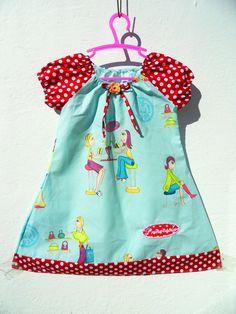 Prinzessin  Punkte Pünktchen Mädchenkleid NEU Gr. 104