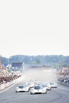 Sauber Mercedes Group C - LeMans 1989