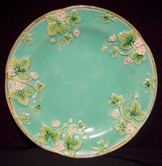 George Jones Majolica from Trilogy Antiques