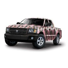 Decals and Stickers 178081: Mossy Oak Camo Vinyl Wrap - Compact Truck / Suv - Break-Up Pink BUY IT NOW ONLY: $899.95