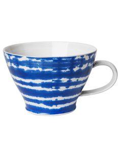 PLAIN BATIK krus blå | Mugs/cups | null | Glass & porselen | Innredning | INDISKA Shop Online