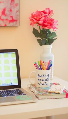 Stylish Sassy and Classy: My Work Space