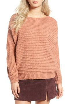 Glamorous Open Back Boyfriend Sweater available at #Nordstrom