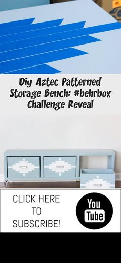 Build your own DIY storage bench! Diy Wood Bench, Diy Storage Bench, Behr Marquee Paint, Beginner Woodworking Projects, Basic Tools, Gift Card Giveaway, Traditional Furniture, Wood Working For Beginners, Wood Glue