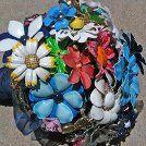 vintage flower pin bouquet