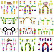 arco de globos para niño - Buscar con Google