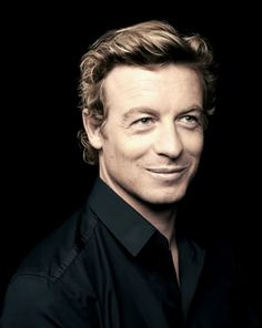 Simon Baker! I love this man's acting!!! The Mentalist is like my favorite show!