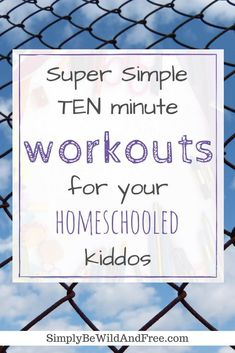 10 Best Workouts for the homeschooler! Super simple and fun workout ideas you can incorporate into your daily homeschool routine. Get fit and healthy with your kid, while having fun! Homeschooling Ideas & Educational Activities, Tips & Life Skills Homeschooling In Texas, Homeschool Kindergarten, Homeschool Curriculum, Homeschooling Statistics, Homeschooling Resources, Catholic Homeschooling, Preschool Age, Kindergarten Worksheets, Fun Workouts
