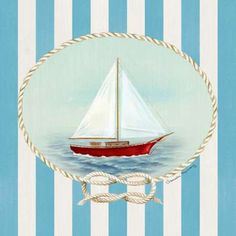 Nautical and Nice Sail Boat by Murray, Danielle