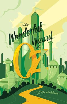 Wizard Of Oz | Minimalist Movie Poster by Mike Mahle