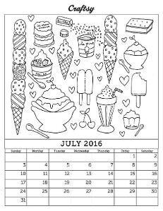 march 2016 free coloring page calendar by craftsyblog craftsy