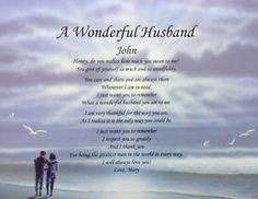 free printable anniversary poems for husband | Personalized Love Poem for Husband Anniversary Birthday Christmas Gift ...