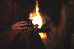Hot cocoa by the fire / Winter Family Fun / Guys with Kids