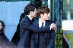 Infinite woohyun and dongwoo