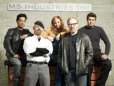 Mythbusters poster Metal Sign Wall Art 8in x 12in
