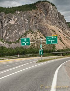 """Can you find the """"Man in the Mountain?"""" (Near my home town in NL) Wonderful Places, Great Places, Places Ive Been, Beautiful Places, Newfoundland Canada, Newfoundland And Labrador, Ocean Sounds, Go Outdoors, Beautiful Sites"""