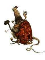"""The Fir Darrig, pronounced """"fear dearg"""", is an Irish fairy, though its original home may have been Scotland. Translated, the name means """"red man."""" They are also known by the name Rat Boys, largely due to their appearance; they have dark, hairy skin, long snouts, skinny tails and are rather fat. Even their clothing looks as though it might have been scrounged from a sewer, being extremely torn and shabby."""