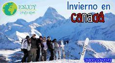 """¿Te imaginas pasar el invierno en #Canadá? Nosotros lo hacemos posible. Solicita información sobre el programa de """"Winter"""" y vive un invierno único. Solicita información sin compromiso: 01 800 5042073 #EnjoyLanguages  #Travel #Explore #EstudiaenelExtranjero"""