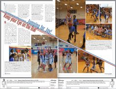 Jv Girls And Boys Basketball Page Yearbook Layout DesignYou can find Yearbook spreads and more on our website.Jv Girls And Boys Basketball Page Yearbook Layout Design Yearbook Design Layout, Page Layout Design, Yearbook Layouts, Magazine Layout Design, Yearbook Ideas, Yearbook Theme, Magazine Layouts, Design Design, Graphic Design