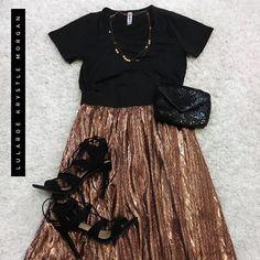 LuLaRoe Elegant Collection - JILL & CLASSIC  Get this skirt: www.facebook.com/groups/lularoekrystlemorgan