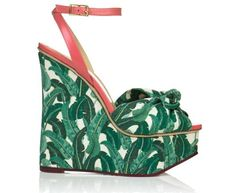 Charlotte Olympia #fashion #charlotte #olympia #wedges #shoes #sandals