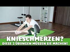 Meniskusriss, Kniearthrose, Kreuzbandriss? Diese 3 Übungen müssen Sie machen! - YouTube