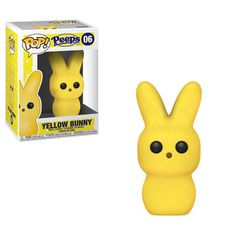 Funko Candy Pop: Peeps - Yellow Bunny Add some cute to your basket this Easter! Bring home a POP of color with a pink or yellow Pop! Coming Soon. Funko Pop Dolls, Figurines Funko Pop, Figurine Pop, Funk Pop, Pixar, Galactic Toys, Pokemon, Pikachu, Candy Pop