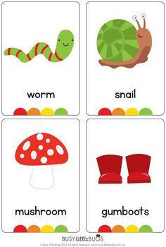 Spring Flash Cards - 36 Spring Vocabulary Words  A great little set of Spring flash cards for literacy learning fun!  You will receive 36 printable flash cards, all with bright colourful images.