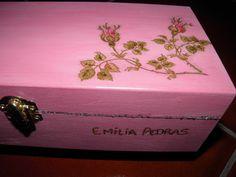 Caixa de Madeira  personalizada