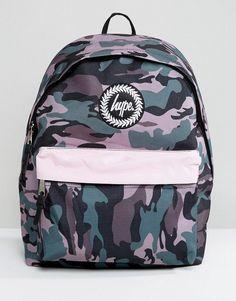 8d99e784f Hype Camo Print Backpack with Contrast Pocket. Moda Para MujerMujeresBolsas  ...