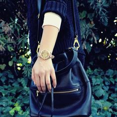 """""""You can take one look and make it infinitely more interesting just by adding the right pieces."""" #Michellesalasb #Fossil"""