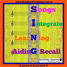 KEYSTONE CREATIONS ~ Educational Songs integrate learning across key areas of…