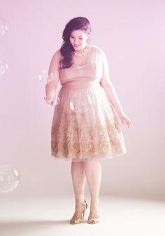 Layered Petit Fours Dress