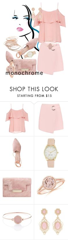 """""""monochrome"""" by amiraahmetovic on Polyvore featuring BB Dakota, Summit, Nine West, Michael Kors, Red Camel and monochrome"""
