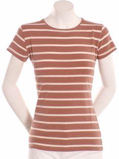 Precchio Colección Otoño Invierno 2012 -  Camiseta rayas marrón