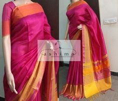 Code:1704184 - Price INR:5600/- , Woven Silk Saree.