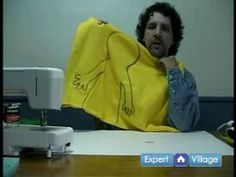How to Make Puppets : Cutting Out the Puppet Pattern: How to Make a Puppet