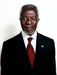 Former U.N. Secretary General Kofi Annan (Worldwide/Ghana)