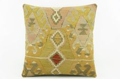 Beige Accent pillow   Mustard pillow cover   Ethnic by GalenUnique, $24.00