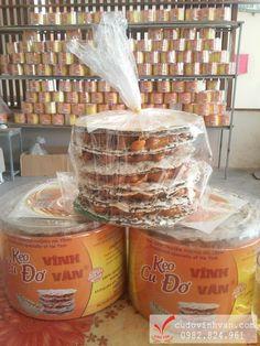 Đóng hộp kẹo cu đơ Vĩnh Vân, giao hàng tận nơi tại tphcm. Kẹo ngon chính hiệu Hà Tĩnh.