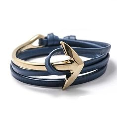 """gentclothes: """"Anchor Bracelet - Get a 10% discount with code TUMBLR10! """""""