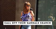 These 5 Sandals Will See You Through the Entire Summer http://www.whowhatwear.co.uk/best-sandals