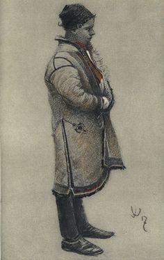 Joža Uprka: Kožuchy, 1920.