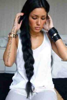 Long braid <3