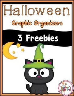 Free Halloween Graphic Organizers for any story or reading lesson