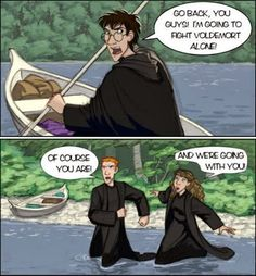 Lord of the Rings and Harry Potter Mash up!!