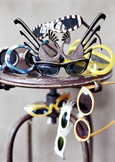 Collection de #lunettes #vintage.