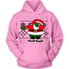Celebrate this Christmas in style with your own exclusive ugly Christmas sweater Hoodie! Black Dabbing Santa Snowflake Ugly Christmas Sweater - Unisex Hoodie - Grab Your Exclusive Limited Edition Ugly Christmas Sweater Designs Today and Get FREE Shipping!        View Sizing Chart     SHIPPING NOTE: On All items please allow 1-7 weeks US delivery. All Sales Final, no returns or exchanges.