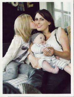 Sharon with her daughter Eva Luna and son Logan Arwin <3