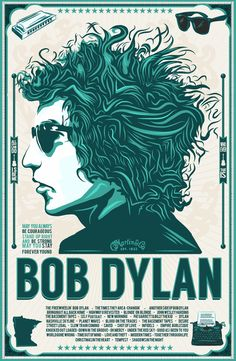Bob Dylan By Michael Todd Williamson You can find Music posters and more on our website.Bob Dylan By Michael Todd Williamson Poster Art, Kunst Poster, Poster Ideas, Gig Poster, Rock And Roll, Rock Posters, Posters Diy, Retro Posters, Movie Posters